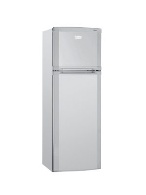 beko-fridge-top-mount-silver-253l-dne25020s