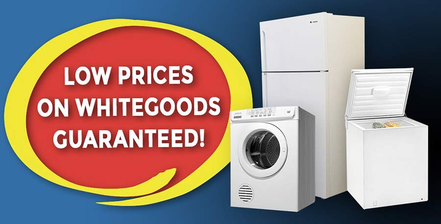 Buy new or scratch and dent whitegoods