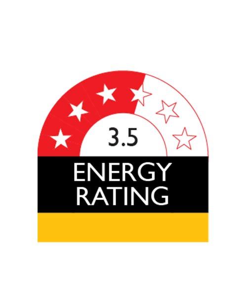 Energy Star rating for BEKO RDNE400K30ZX