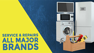 Service and repair on major whitegoods brands