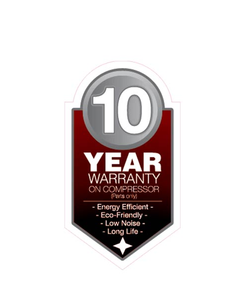 The Product have 10 Year Warranty