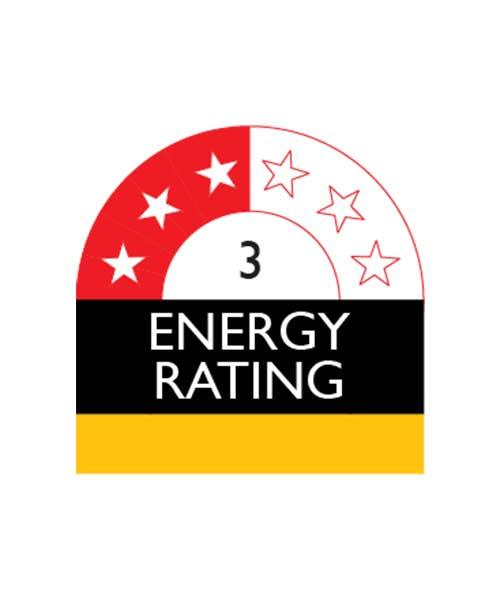 3 Star Energy Rating Electrolux Fridge ESE7007SF