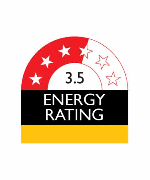 3.5 Energy Star Rating Fisher & Paykel RF610ADUSX5