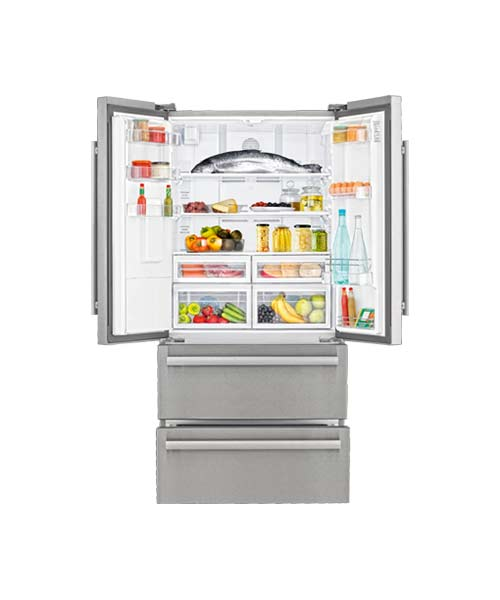 Inside Beko Four Door Fridge GNE60520DX