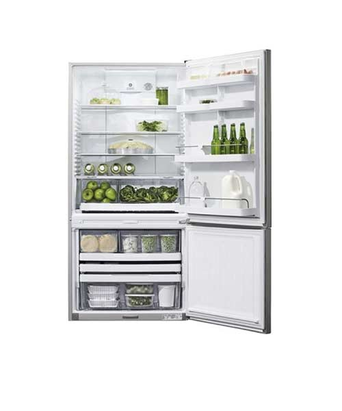 Inside view Fisher & Paykel Fridge E522BRX4