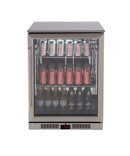 138L EURO Beverage Fridge EA60WFSX