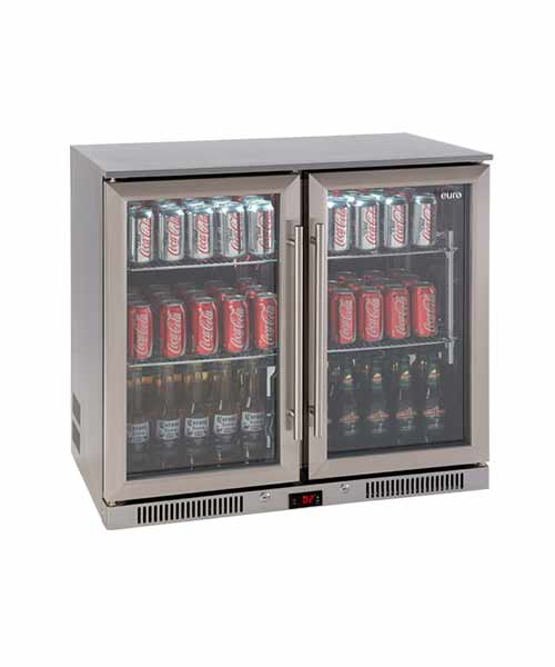 208L  EURO Fridge With Glass Doors EA900WFSX