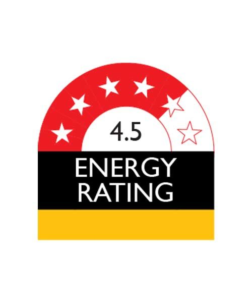 Appliance with 4.5 Star Enery Rating