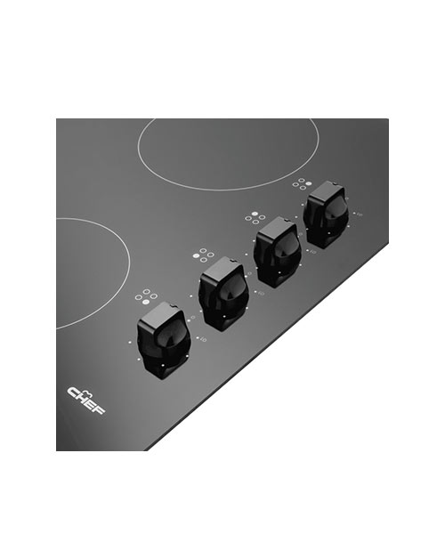 Chef Cooktop EHC647U Rotary controls