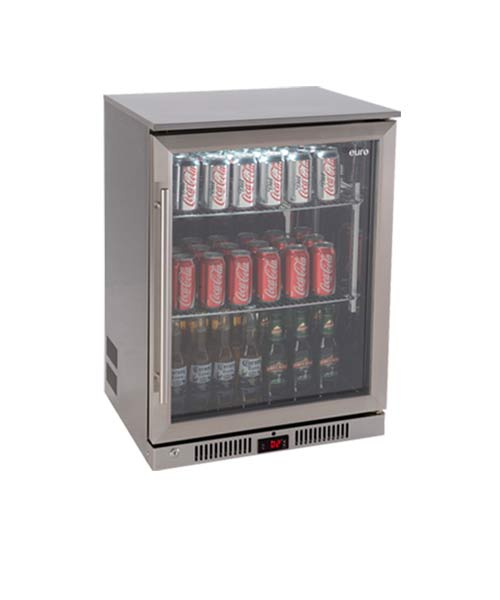 EURO Beverage Fridge Glass Door EA60WFSX
