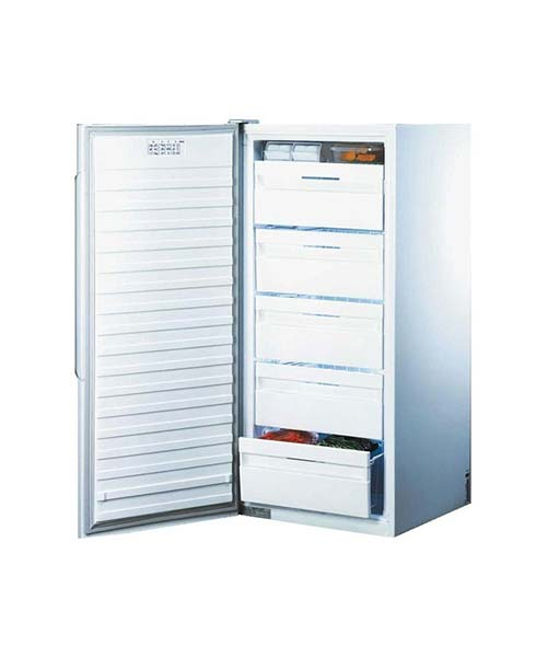 Inside Fisher & Paykel Upright Freezer E308LWW