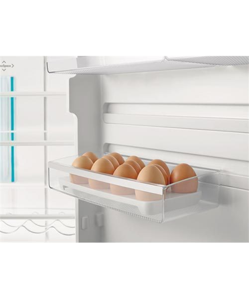 Egg tray in fridge door
