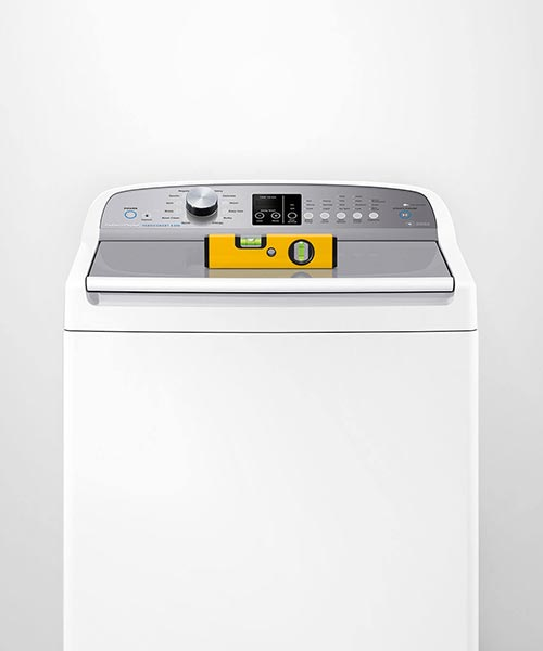 Fisher and paykel top loader is easy to install