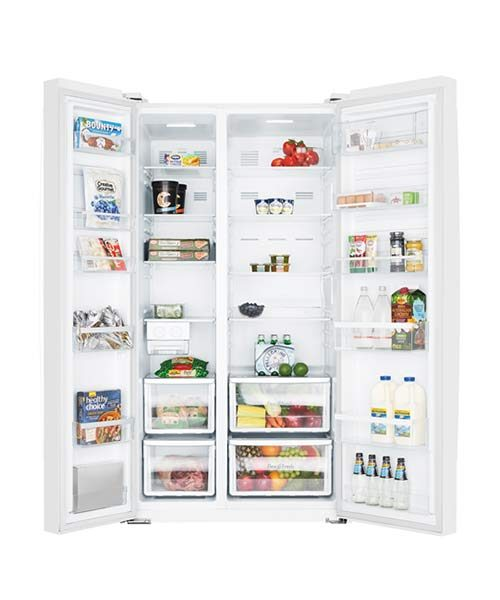 Inside view of Westinghouse 620L Fridge WSE6200WA