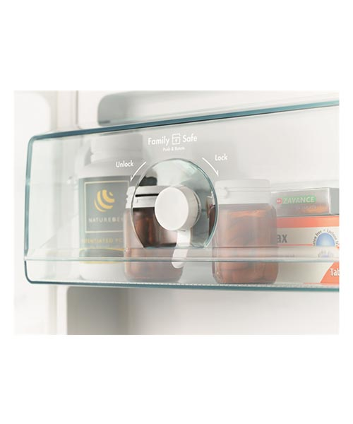 Westinghouse Fridge FamilySafe™ lockable compartment