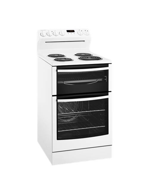 Westinghouse Stove 54cm With Coil Hob WLE527WA