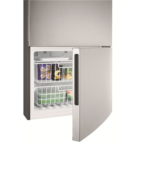 Kelvinator Bottom Mount Fridge KBM5302AA-Freezer compartment