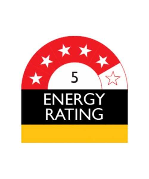 5 Star Energy Rating Appliance