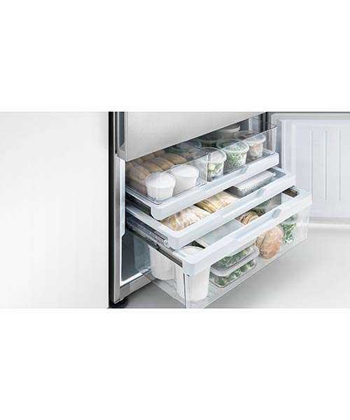Efficient fridge storage solution with Fisher and Paykel