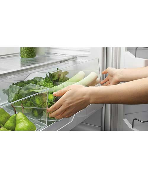 Flexible fridge storage for Fisher and Paykel Fridge
