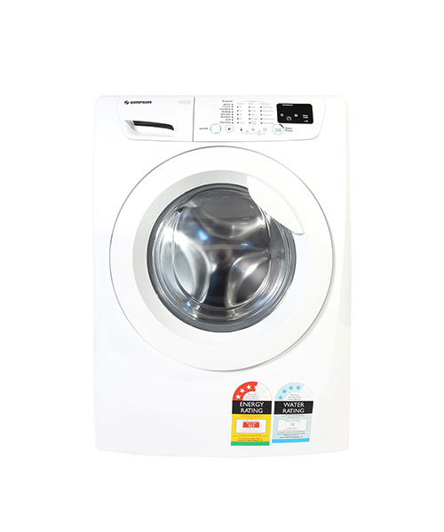 Front View of 7KG Front Load Washer EWF12743