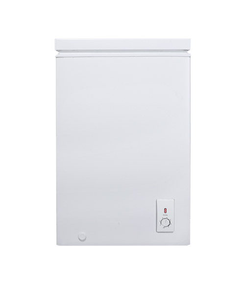 Front view Euro 100L Chest Freezer ECF100WH