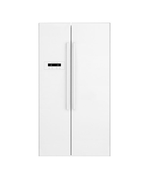 Kelvinator 620L White Side by Side Fridge KSE6200WA