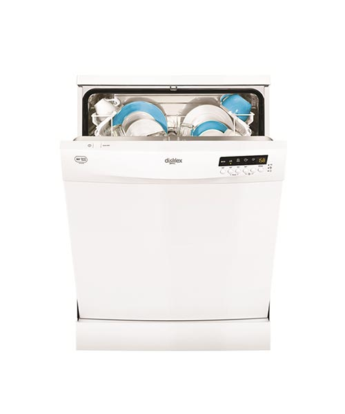 Open view of Dishlex White Dishwasher DSF6206W