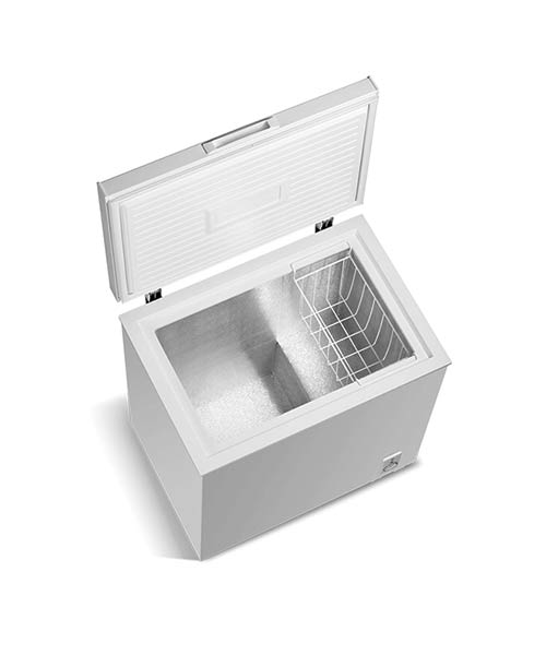Open view on Changhong 142L Chest Freezer FCF142R02W