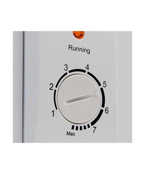 Temperature control on Euro Chest Freezer ECF100WH