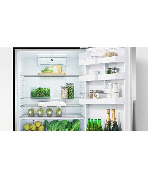 The food stays fresh for longer in a Fisher and Paykel Fridge