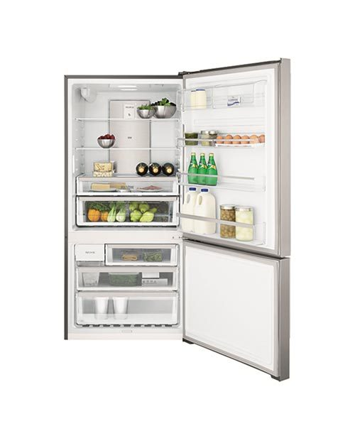View inside Electrolux 530L Fridge EBE5367SA