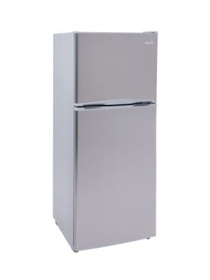 Euro 292 Litre Top Mount Fridge With Steel Look Finish E292FSX