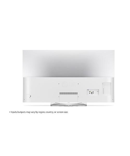 Rear view LG OLED TV B7 55 inch