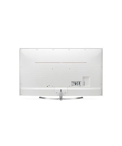 Rear view of LG Super UHD 4K TV 60 inch