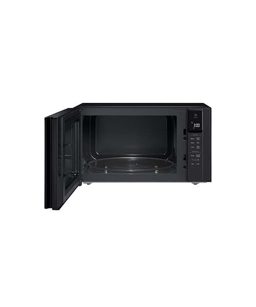 LG NeoChef, 42L Microwave with open door