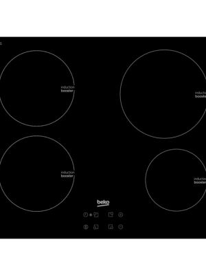 Beko 4 Zone Induction Hob HII64400AT