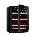 Vintec 50 Bottle Dual Zone Wine Cabinet Cellaring V40SG2EBK