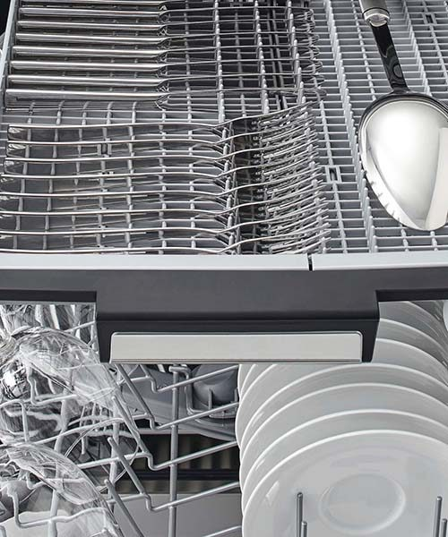 Utensil Feature on DW60FC Series Dishwasher