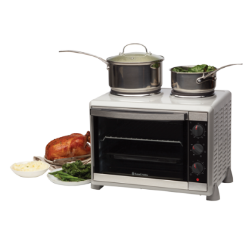 Russell Hobbs Compact Convection Oven With Hotplates