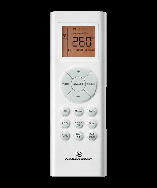 Kelvinator KSD71HRH Wiress Remote