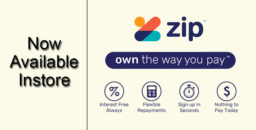 Zip Payments Now Accepted Instore