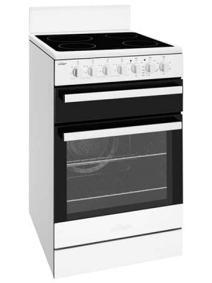 54cm White Freestanding Cooker