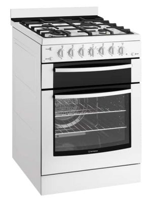60cm White Freestanding Gas Cooker