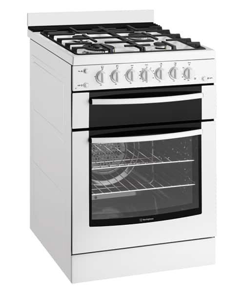 60cm White Freestanding Gas Cooker
