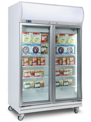 Bromic 976L Commercial Glass Door Freezer