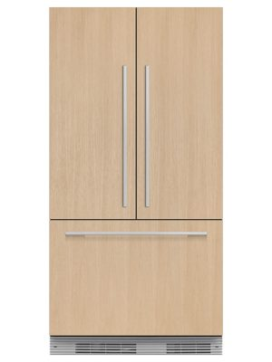 Fisher & Paykel RS90A1 Integrated French Door Refrigerator Freezer, 90cm